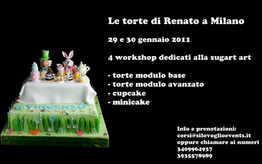 Cake Design Milano Prezzi : Le Torte di Renato a Milano   Cake Design & Decorating ...