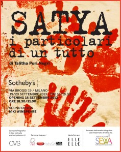 Save the date-Satya-18 settembre Sotheby's